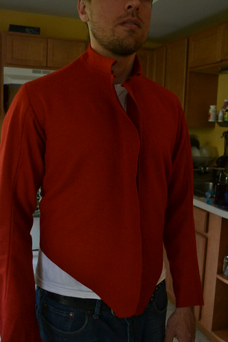 Fitting Doublet, Red Men's Outfit, from 1560's Italy, based heavily on Moroni portraits on MorganDonner.com