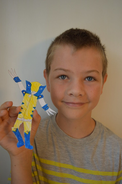 Split Pin Puppet - Wolverine