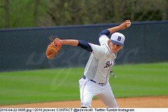 2016-04-22 0695 COLLEGE BASEBALL Georgetown at Butler