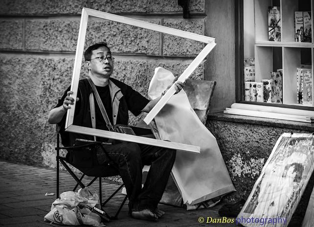 Artist at Work - Frame it