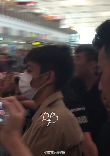 Big Bang - Beijing Airport - 07jun2015 - 薛若冰包子臉 - 11