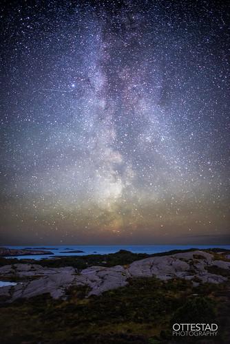 astrophotography stars nightshot nightphotography themilkyway galaxy horizon longexposure seascape nature norway sotra glesvær coast beautiful fascinating