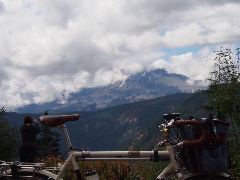 Mount Saint Helens Over Ivory Pass