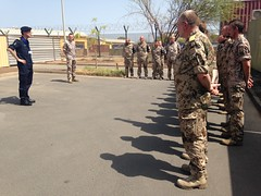Op Atalanta Force Commander addresses the German National Support Element