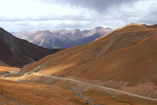 from Kochkor to Song Köl lake, Kyrgyzstan