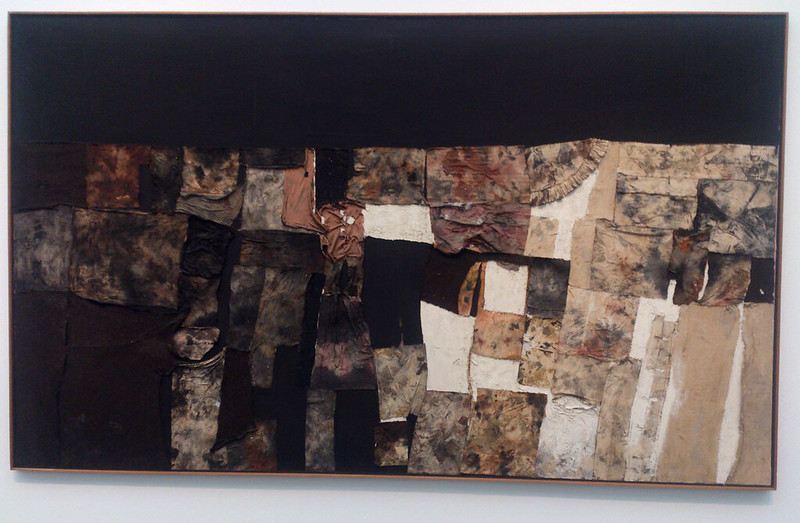 Destroy The Picture at MCA Chicago - Alberto Burri