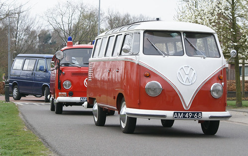 AM-49-68 Volkswagen Transporter Samba 23raams 1961