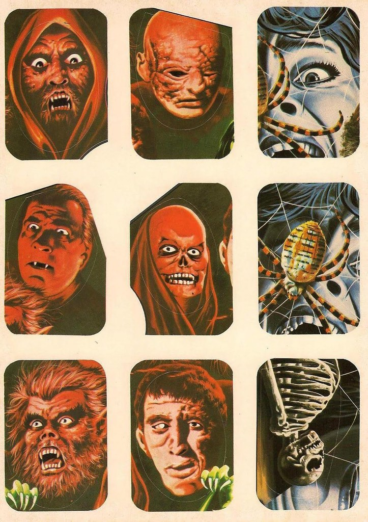 Horror Movie Stickers - 2