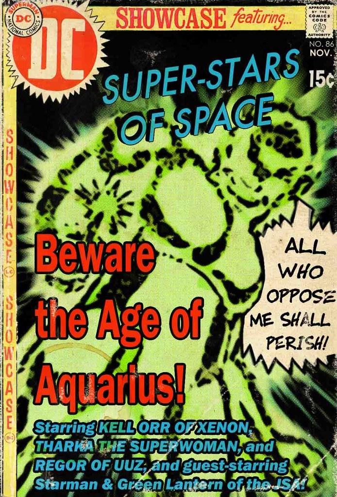 Showcase: Super-Stars of Space: Times Past, 1969: Aquarius Redux