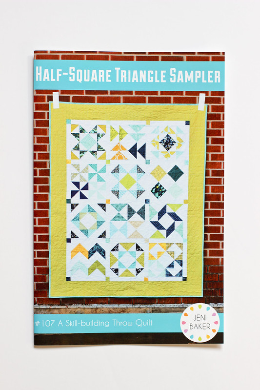 Half-Square Triangle Sampler Paper Pattern
