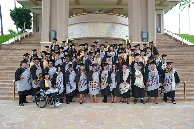 <p>University Center, West Hawaii commencement ceremony. May 11, 2013</p>