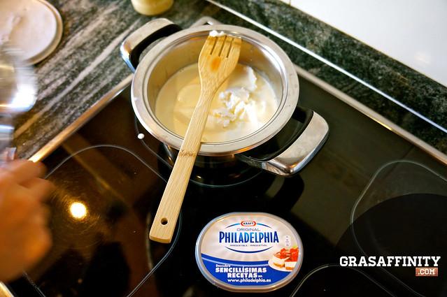 Cómo se hace la tarta de queso: Grasaffinity