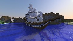 Just a little warship I made, tell me what you think!