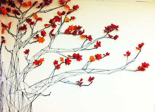 string art tree
