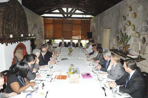 OAS Authorities Meet SICA Foreign Ministers