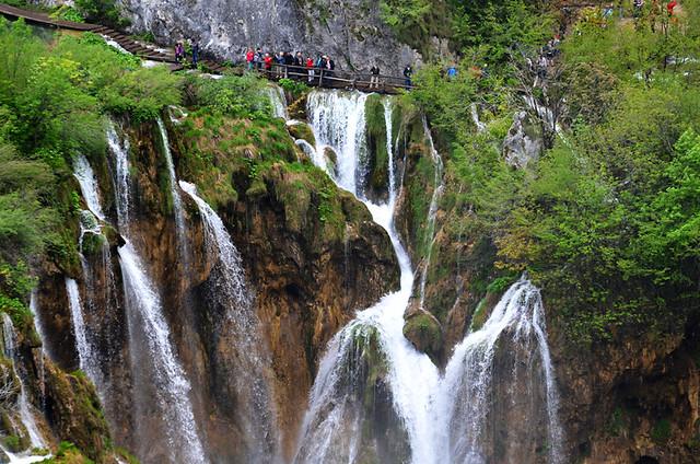 Falls Beside Veliki Slap, Plitvice Lakes National Park, Croatia