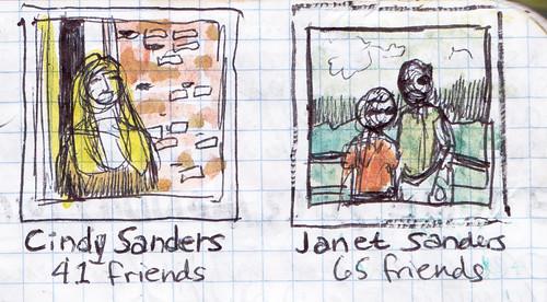 Cindy Sanders, Janet Sanders