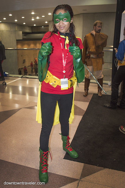 NY Comic Con Kids Costume Robin