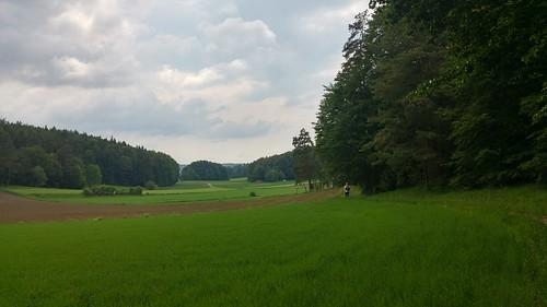Einsame Landstriche in der Oberpfalz