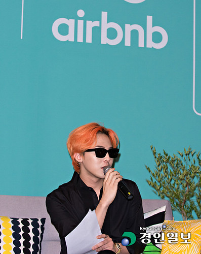 G-Dragon - Airbnb x G-Dragon - 20aug2015 - kyeongin - 02