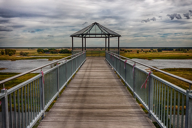 viewpoint to the river Elbe