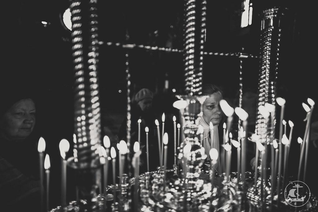 8 октября 2016, Литургия в Свято-Троицкой Сергиевой Приморской пустыни / 8 October 2016, Liturgy in the Coastal Monastery of St. Sergius