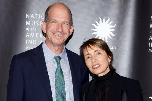 Regina and husband Gregory at a fundraising event