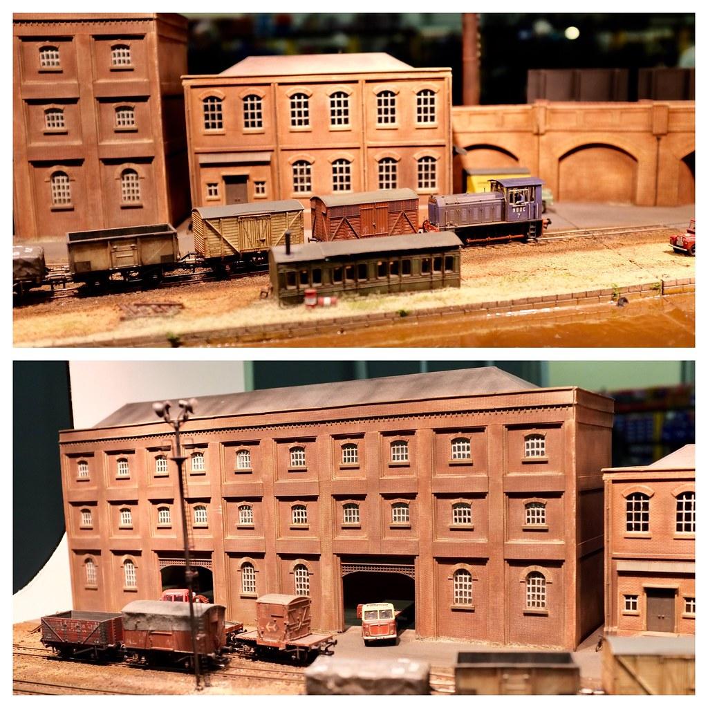East of England Model Railway Exhibition 2016: Ruston Quays