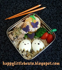 Ghost Buddies Egg Bento!