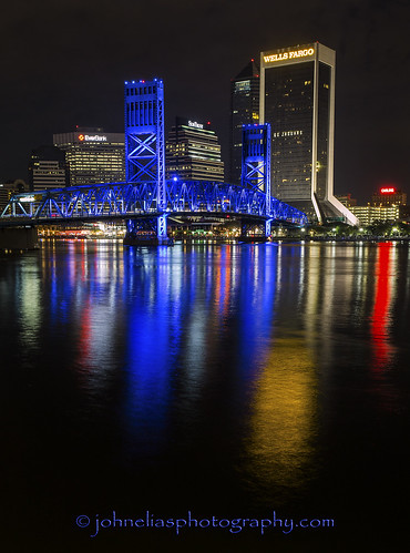 Jacksonville at Night (Best seen large)