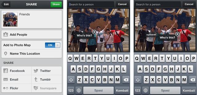 Fitur photo tagging yang ada di Instagram 3.5