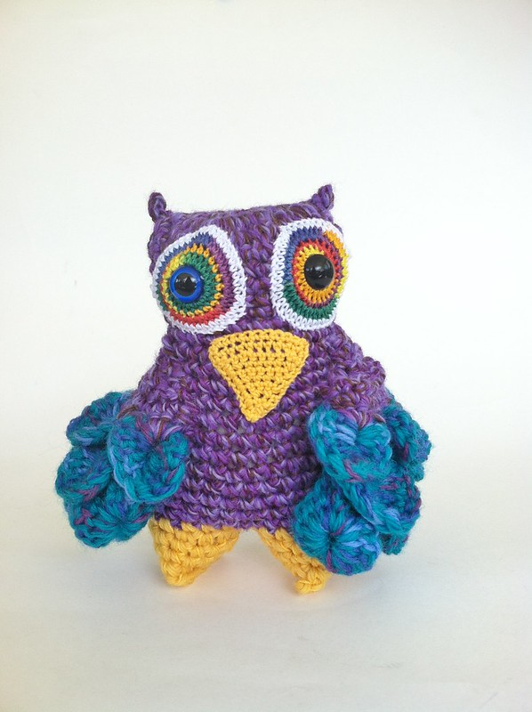 Owl Monster Doll by Knot By Gran'ma