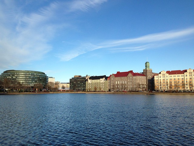 Kallio, seen from the water.