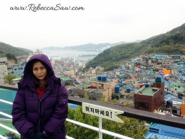Gamcheon Cultural Village - rebecca saw