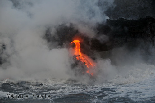 Lava no mar 3