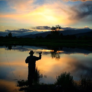 Casting a Spell on the #AlouetteRiver #PittMeadows #BC #FlyFishing  YesterEve 05-23-2013