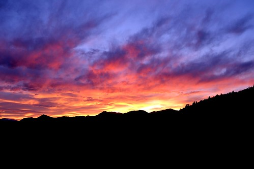 sunset mountains golden nikon colorado lookout mtn d3100