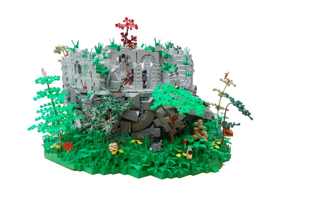Lord of the Rings/Hobbit lego Creations - Magazine cover