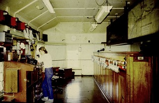 Flemington Goods Junction's first female signaller