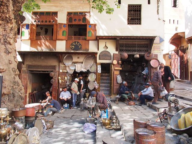 Fes古城商店街