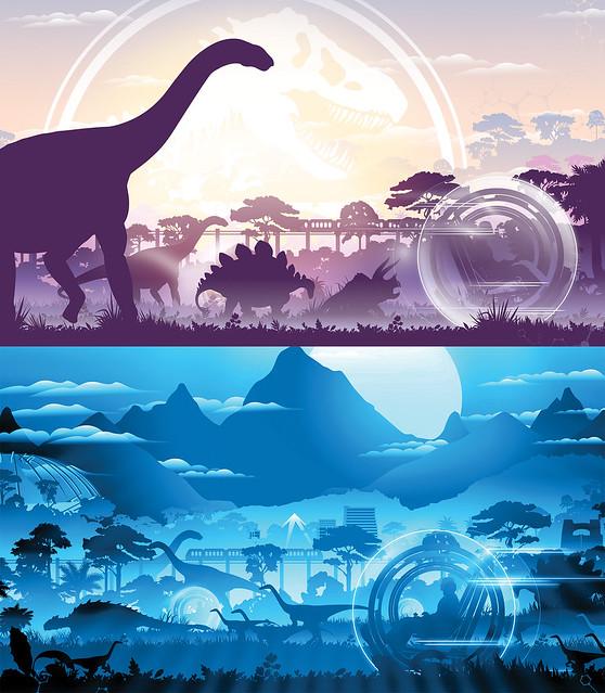 141119(2) -『專長:孵恐龍蛋』讓吳博士22年不被InGen裁員、2015年電影《侏儸紀世界》公開新樂園劇照!