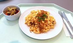 Cheese spaetzle with fried onions / Käsespätzle…