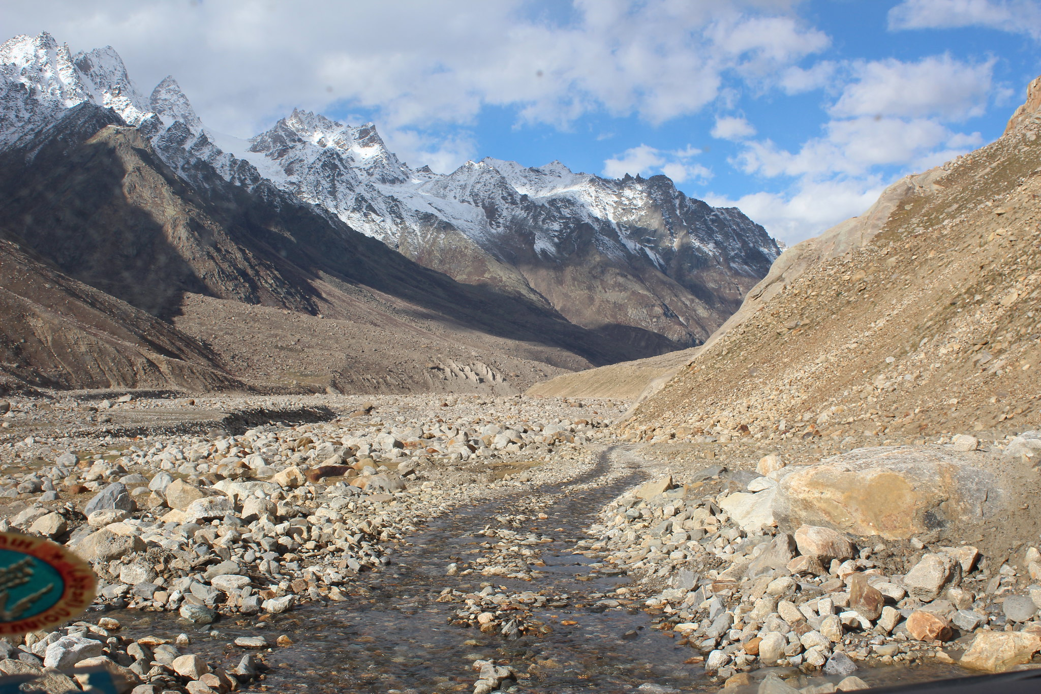 Condition of the Road to Kaza