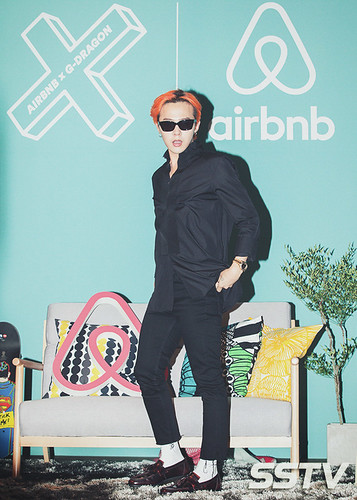 G-Dragon - Airbnb x G-Dragon - 20aug2015 - SSTV - 07