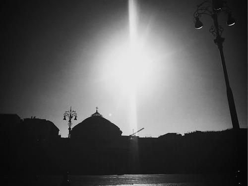 As postcard. #Naples #Black &#White #Wonderful #Landscape #Lovely
