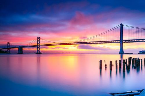 sunrise san francisco bay sfist luckysnapshot long exposure longexposure 三藩市日出顏色 三藩市 日出顏色 日出