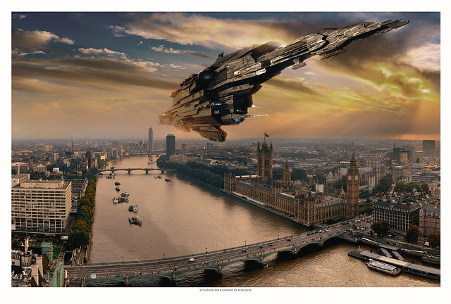 Leviathan Over London Commission