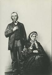 Thomas and Honor Marshall, circa 1866.