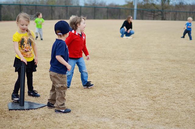 Tee-Ball Practice
