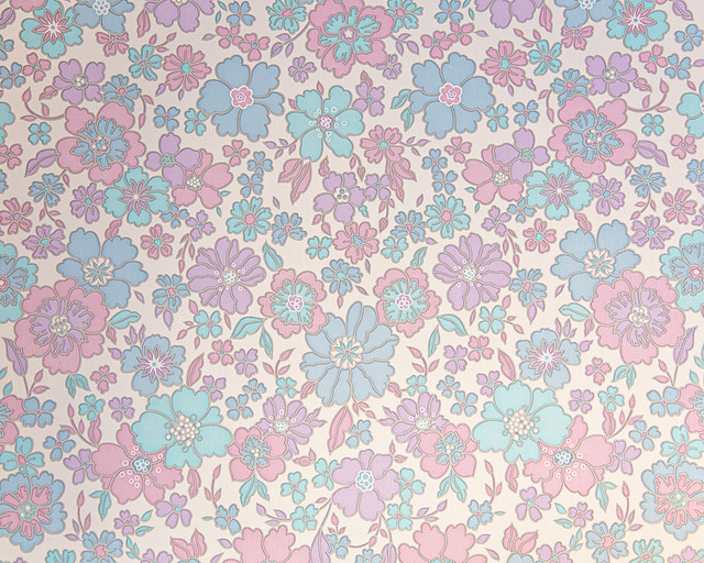 Vintage wallpaper love